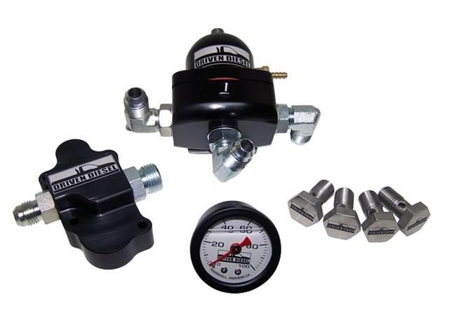 Driven Diesel Regulated Return Fuel System Kit