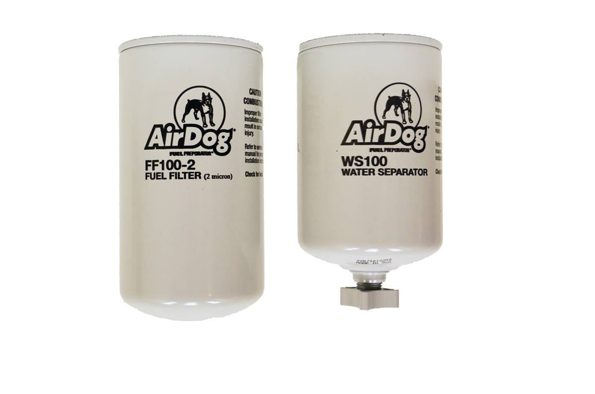 Airdog Fuel Filter 2 Micron Replacement Water Separator 1997 Dodge Ram Location