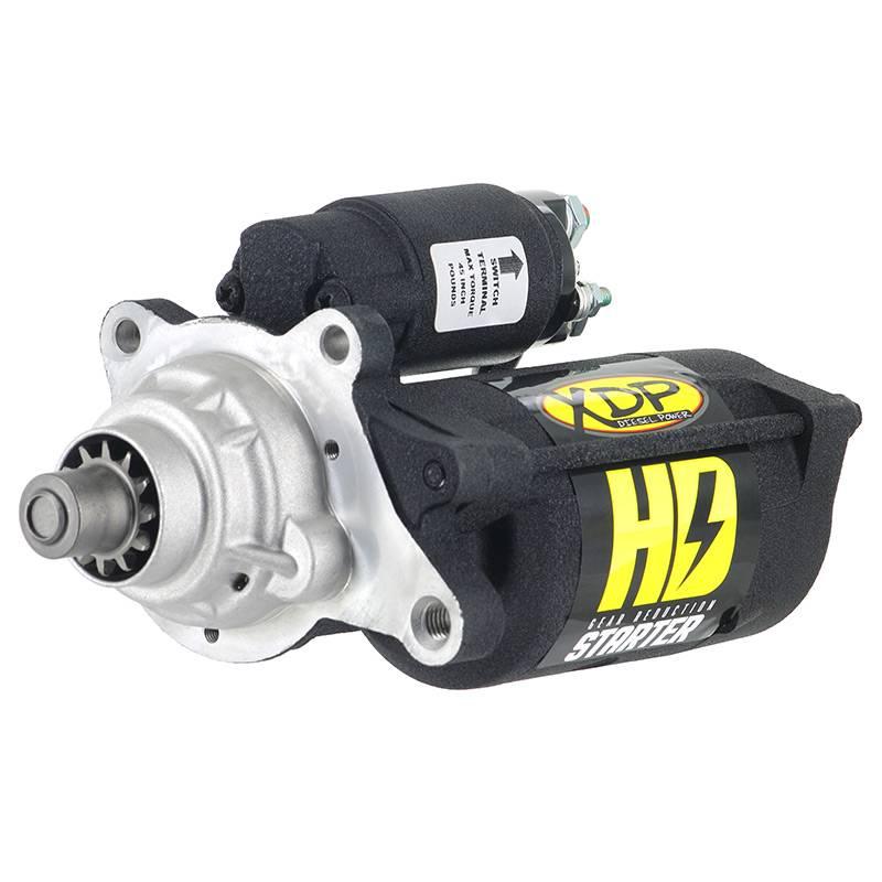 XDP Wrinkle Black Gear Reduction Starter For 03-07 Ford 6.0l Powerstroke XD255