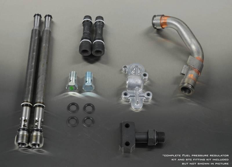 Fuel Pressure UPGRADED Banjos /& Blue Spring Kit For 2003-2007 Ford 6.0L Diesel