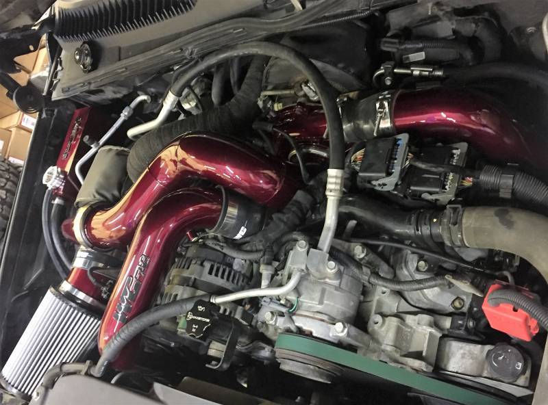 WCFab S400/Stock Twin Turbo Kit For 06-07 LBZ Duramax