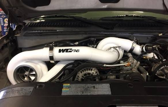 WCFab S400/S400 Twin Turbo Kit For 01-16 6 6 Duramax