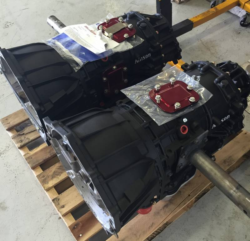 WCFab 750 HP Built Transmission For 06 07 LBZ Duramax