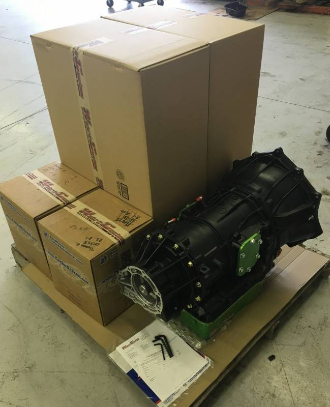 WCFab 750+HP Built Transmission For 06-07 LBZ Duramax