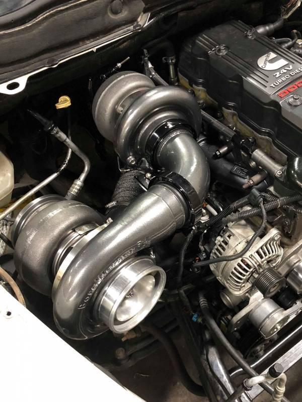 Intake Manifold Gasket 5.9L 24v CumminsDodge 03-07 2500 3500 Large Size