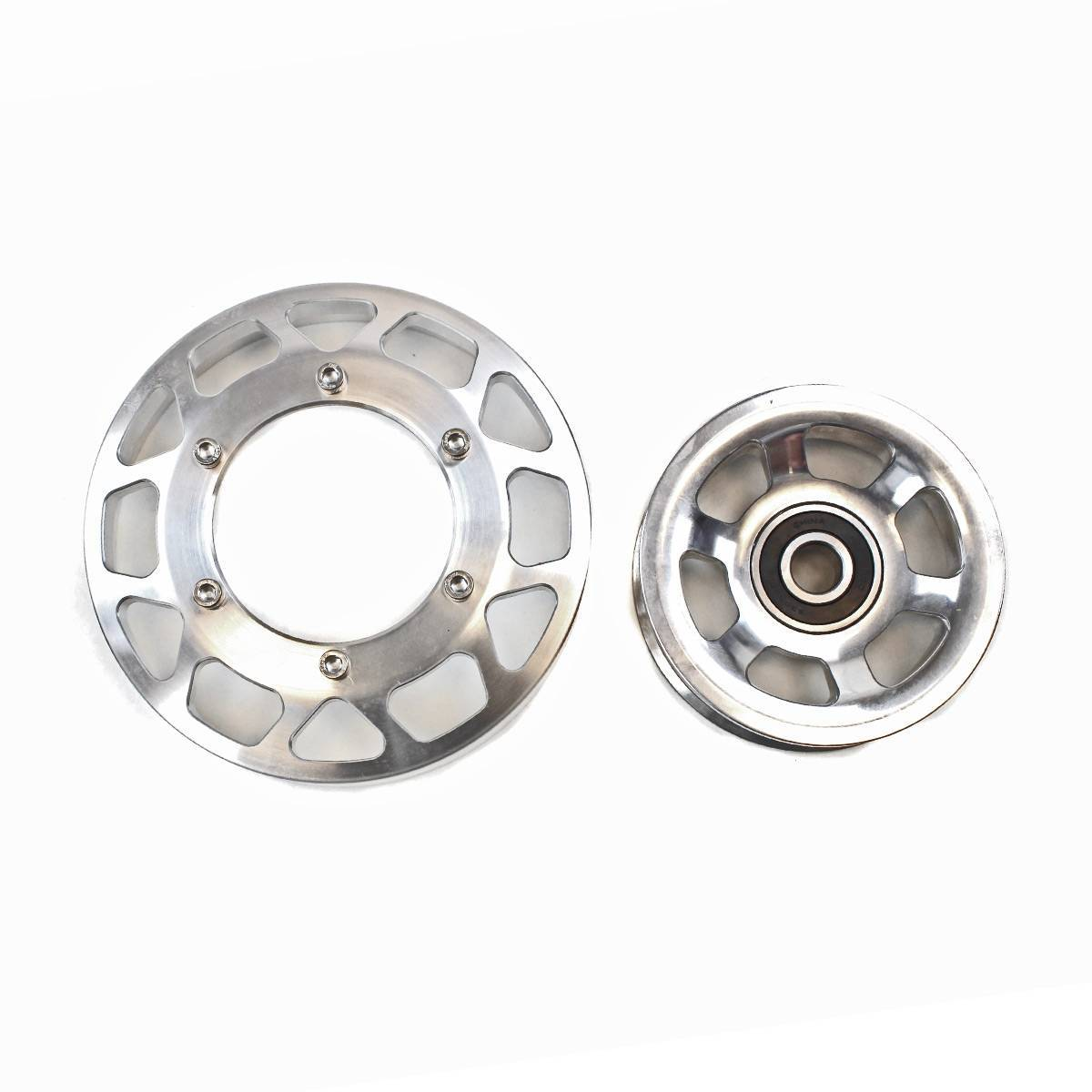 Industrial Injection Common Rail Cummins Billet Pulley Kit (03-12)