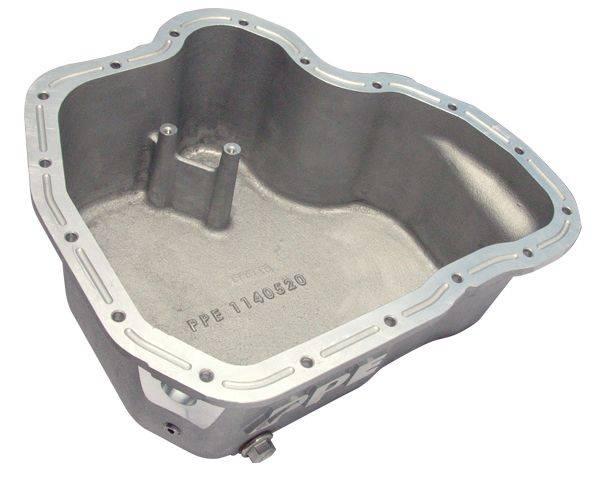 PPE High Capacity Aluminum Deep Engine Oil Pan - Raw For 11-16 LML Duramax