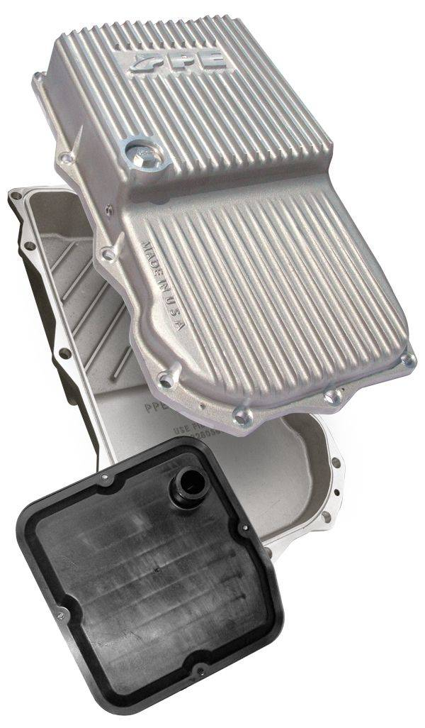 PPE Heavy Duty Aluminum Transmission Pan - Raw For 14-18 Ram 1500