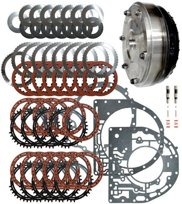 Transmission Torque Converter >> Ppe Stage 4 Allison Transmission Upgrade Kit W Torque Converter For 06 10 6 6 Duramax