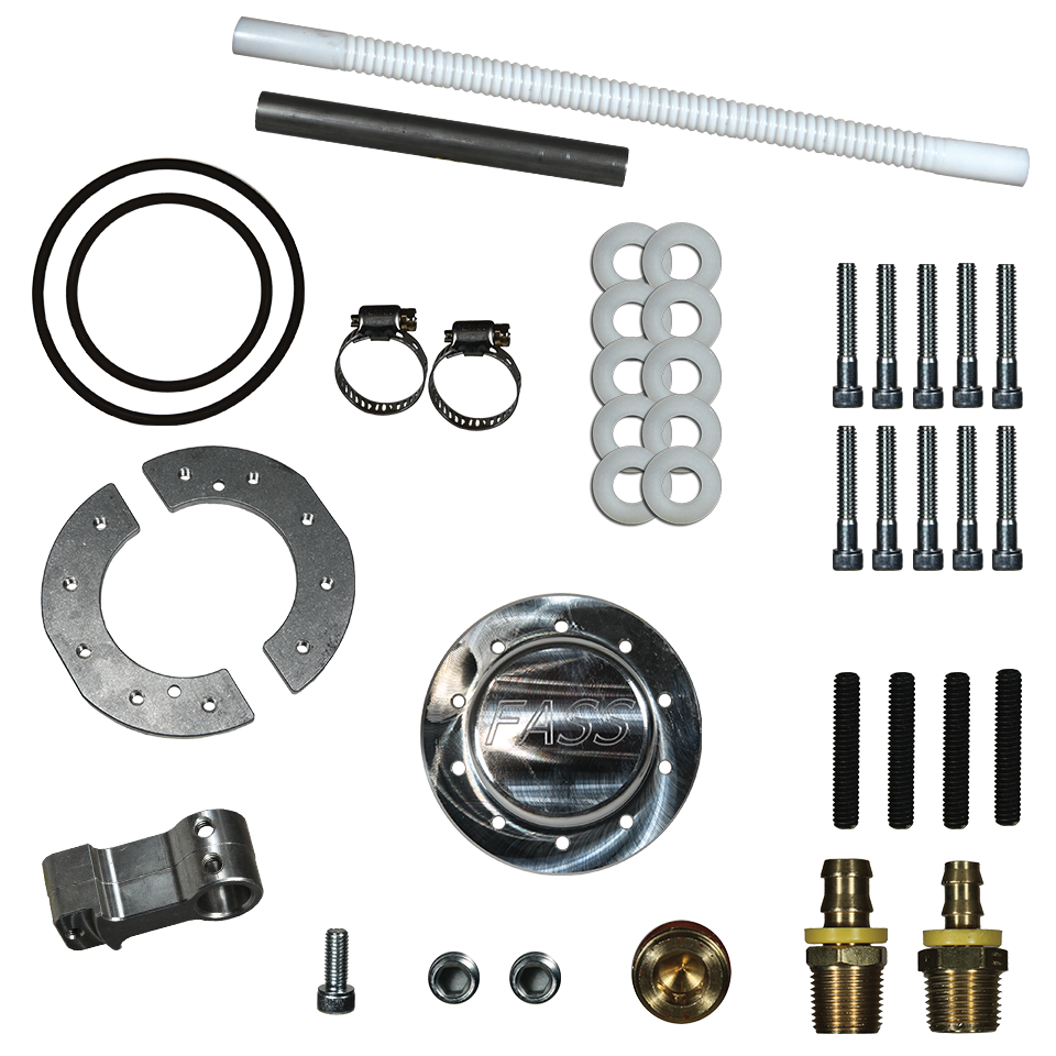 FASS Universal Fuel Sump With Suction Tube Upgrade Kit