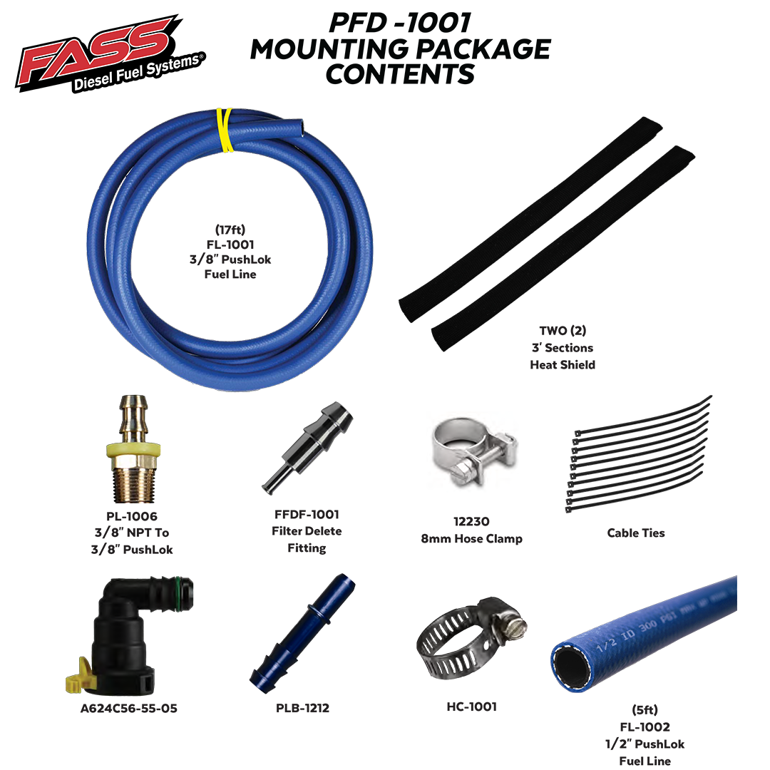 FASS Fuel Filter Delete For 11-19 6 7L Powerstroke