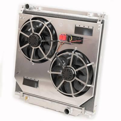 Flex A Lite Direct Fit Radiator W Electric Fans