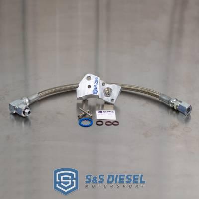 11-15 Ford 6.7 6.7L Powerstroke Diesel Fuel Line T-Fitting Leak Repair Kit 9B246