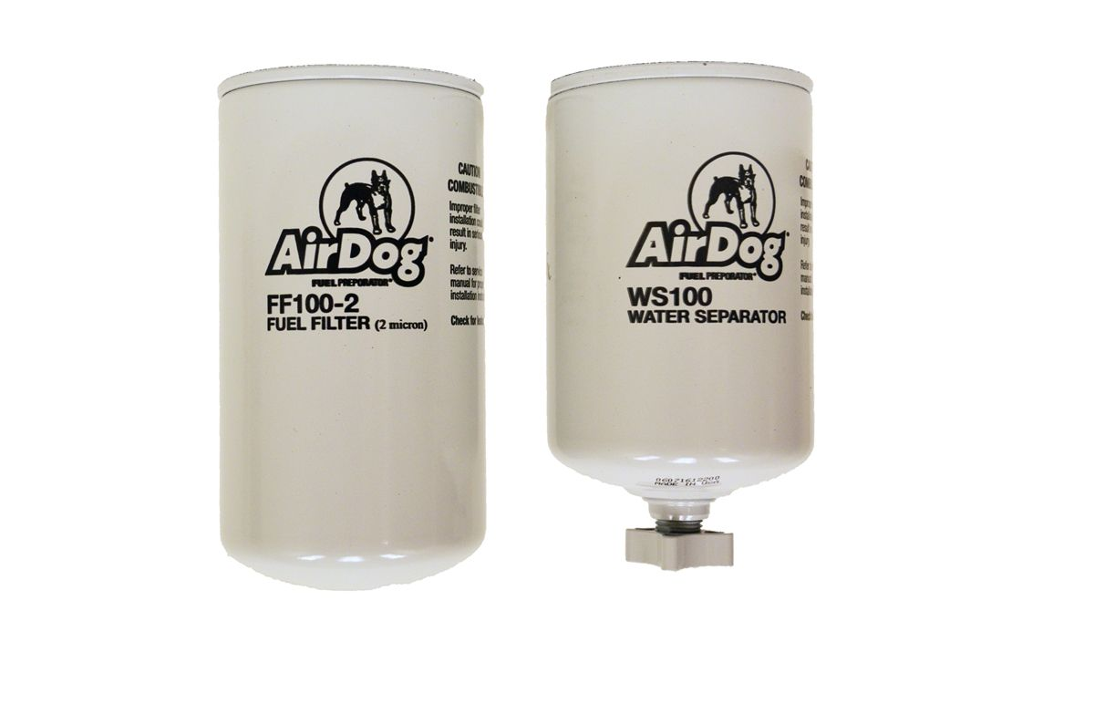 Airdog Fuel Filter 2 Micron Replacement Water Separator 1989 Dodge Ram Location