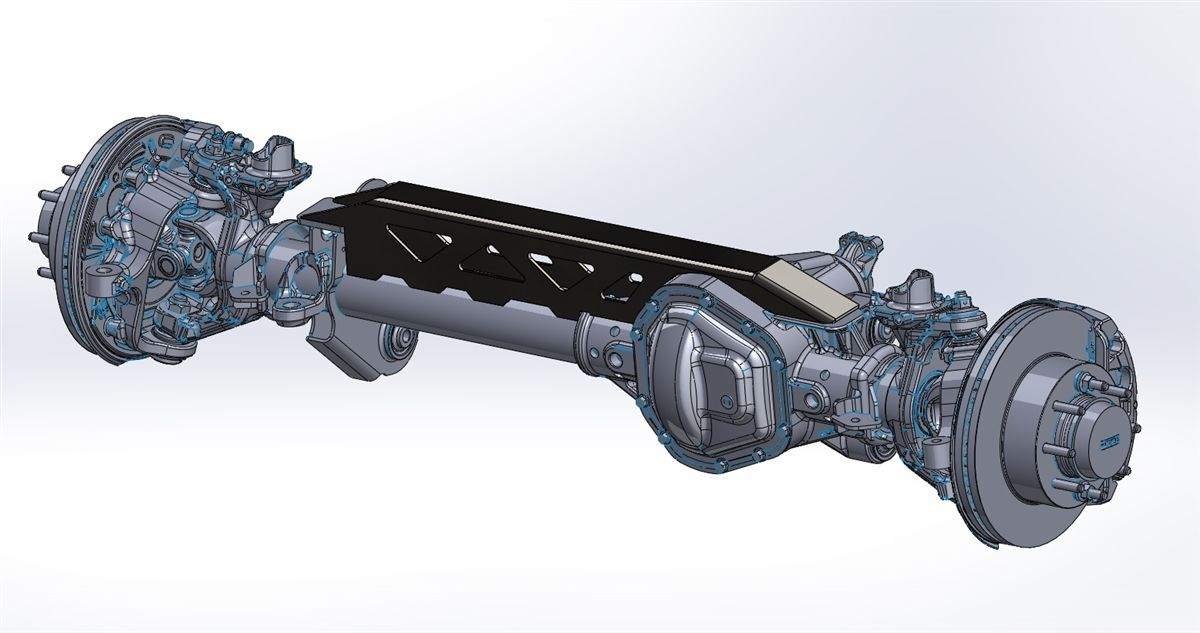 PMF Suspension - PMF Weld-On Axle Trusses