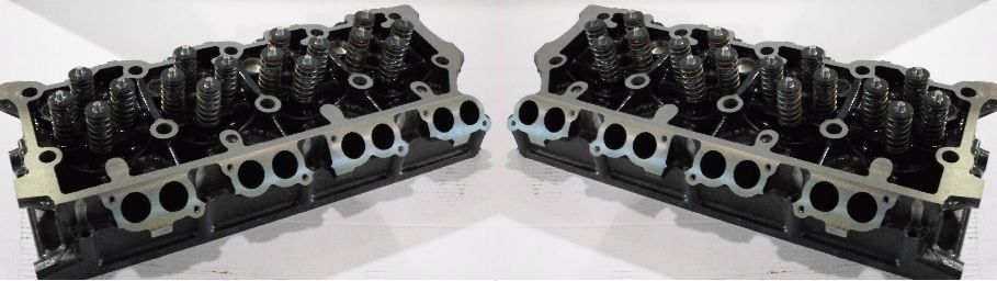 Rudy's Remanufactured Cylinder Head Set For 03-07 6 0 Powerstroke