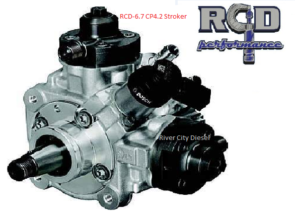 RCD Stroker CP4 2 High Pressure Fuel Pump