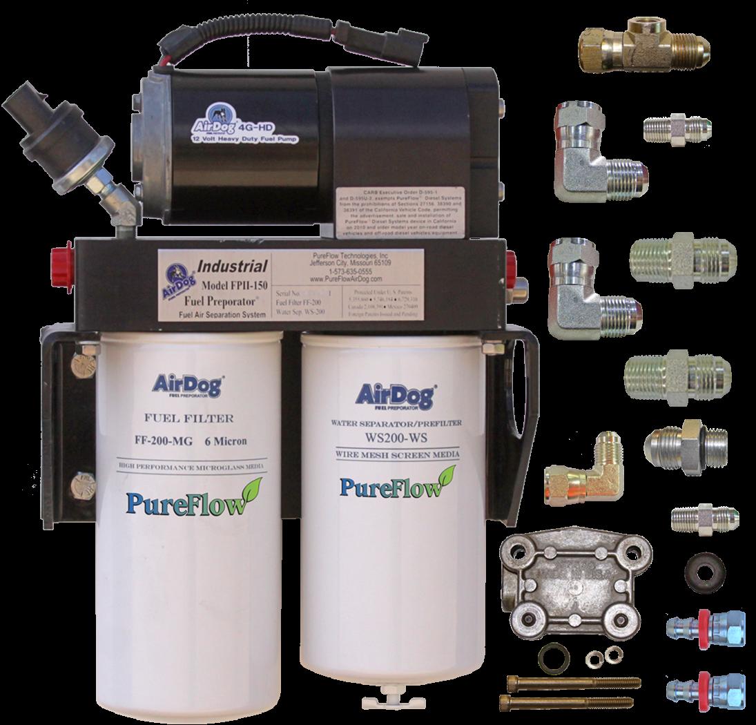 [SCHEMATICS_4NL]  AirDog FPII 4G 200 GPH For Cummins N14 With Pump Mount Fuel Filter   Airdog Fuel Filters      Rudy's Diesel Performance