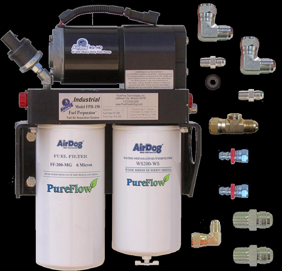 airdog fpii 200 4g cummins n14 w remote fuel filter Remote Fuel Filter Chevy C30