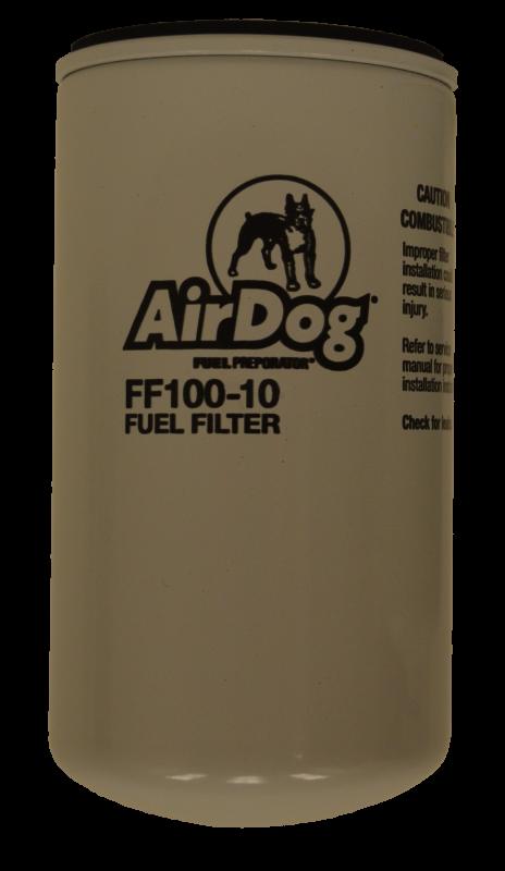 pureflow airdog ff100 10 fuel filter, 10 micron AirDog 150 Fuel Filters