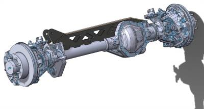 PMF Suspension - PMF Weld-On Axle Trusses - Image 2