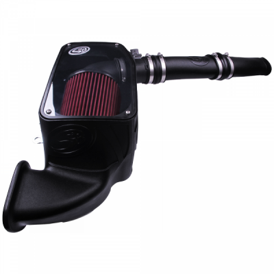S&B - S&B Cold Air Intake For 14-18 Dodge Ram 1500 3.0L EcoDiesel V6 Cotton Cleanable Red 75-5074 - Image 7