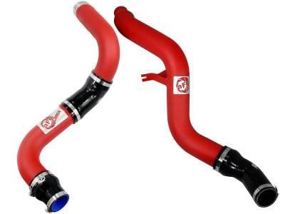 """aFe Power - aFe BladeRunner 3"""" Red Hot & Cold Side Intercooler Pipe Kit For 14-15 Ram 3.0L EcoDiesel - Image 2"""